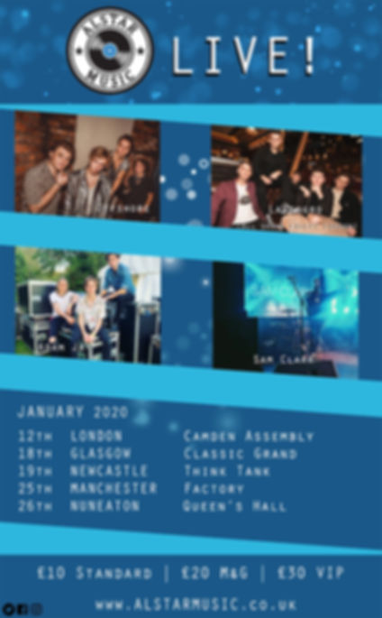Alstar Showcase - January (Bands - Updat