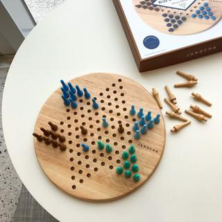 The blue diamond game