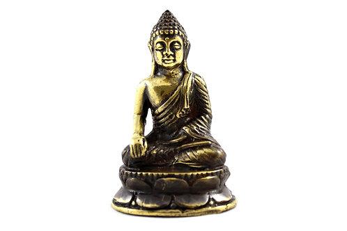 Mini Bouddha en Tailleur Méditation 6x4 cm