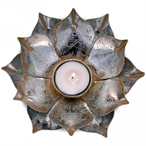 Eclairage d'ambiance 'Lotus' - 15x4 cm