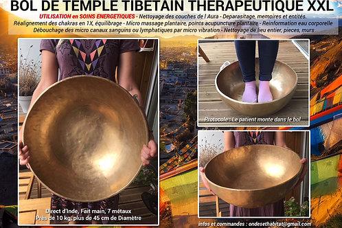 Bol de temple xxl thérapeutique - 45/46 cm - 7 métaux