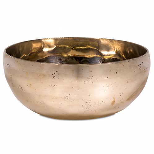 Bol chantant Tibétain Santi couleur Or 10,5 cm - 7 métaux