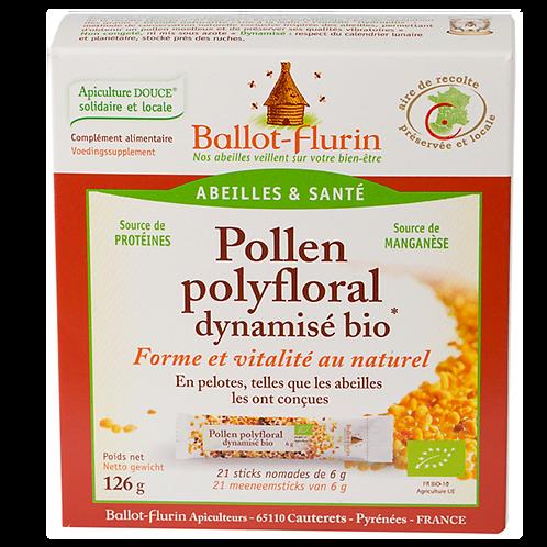 Pollen polyfloral dynamisé en stick