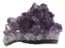 Améthyste pierre brute Cristaux (200 à 250 grammes)