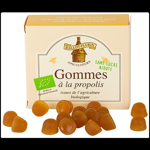 Gommes à la propolis sans sucre ajouté - 40g