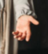 Open hand invitation
