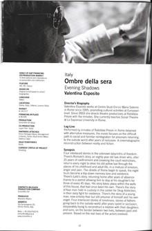 Ombre della sera al Venice Gap-Financing Market, 71ª Mostra internazionale d'arte cinematografica di