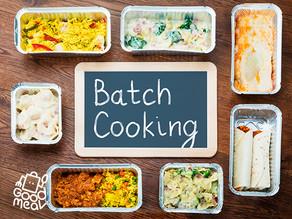 Batch Cooking: Organízate para cocinar en pocas horas y reducir el desperdicio en casa 🥕🥬