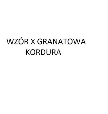 X kordura granatowa.png