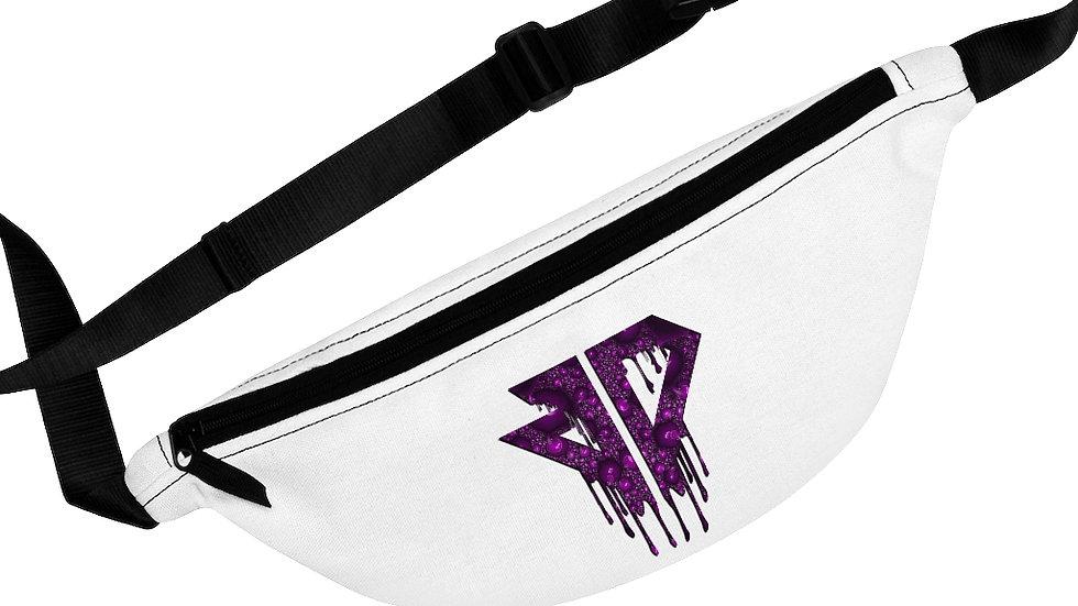 Purple Logo Drip Fanny Pack