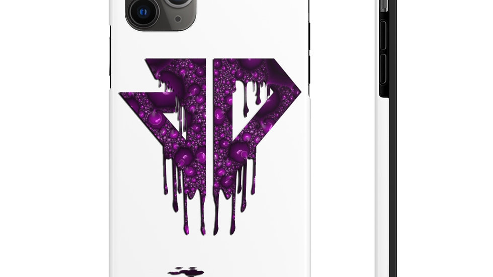 Purple Drip Logo Tough Phone Cases