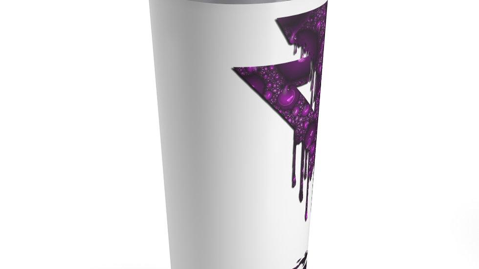 Purple Drip Tumbler 20oz