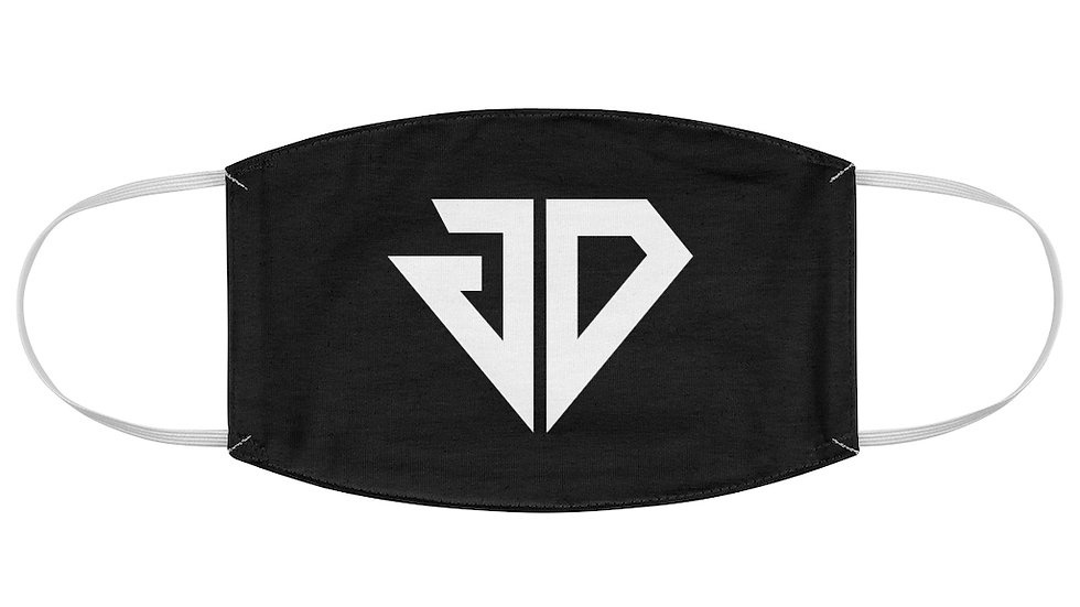 JD Black & White Fabric Face Mask