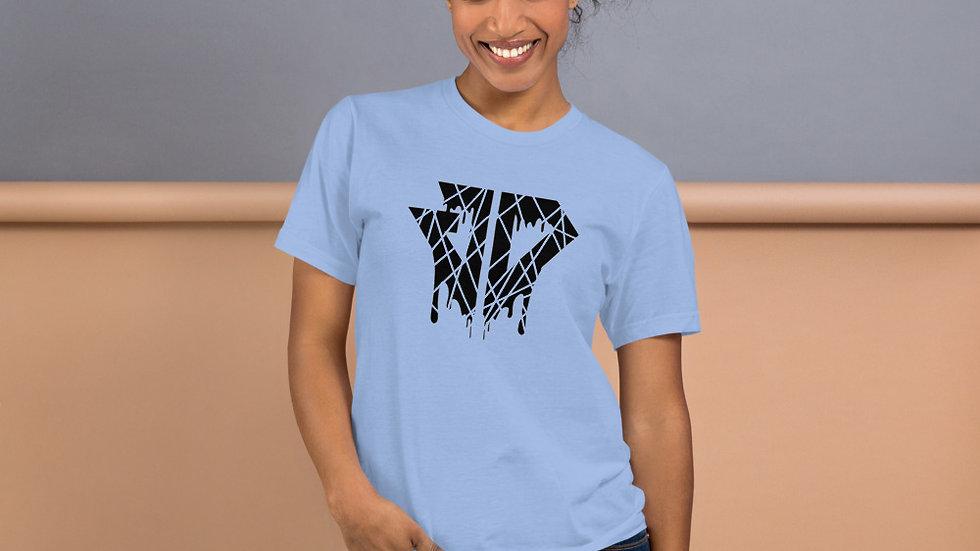 JD Cracked Drip Logo T-Shirt