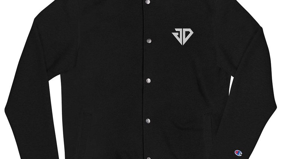 JD Embroidered Champion Bomber Jacket