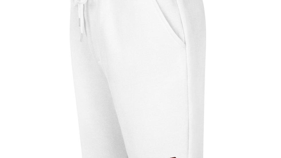 Uncrowned King 2 Logo Men's fleece shorts