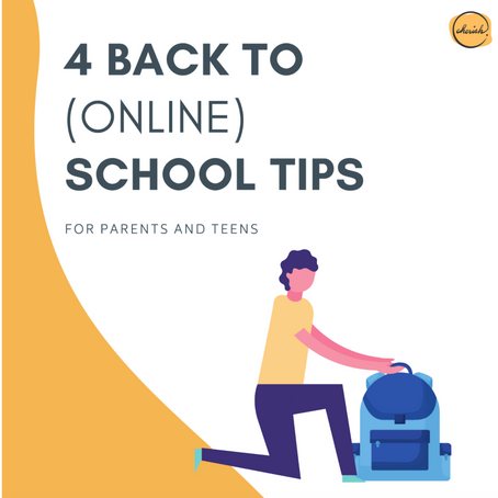 Top 4 online learning tips for teens (Back to school tips in 2020)