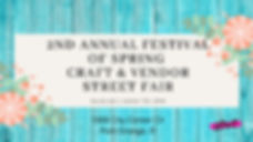 2nd Annual Festival Of Spring Craft & Ve