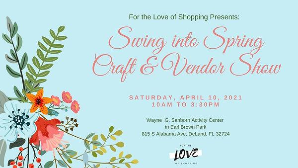 Swing into Spring Craft & Vendor Show Co