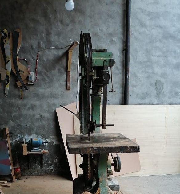 ototsubu harp パキスタンの工房の様子