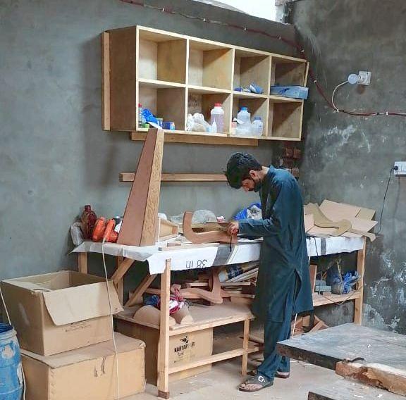 ototsubu harpパキスタン工房1