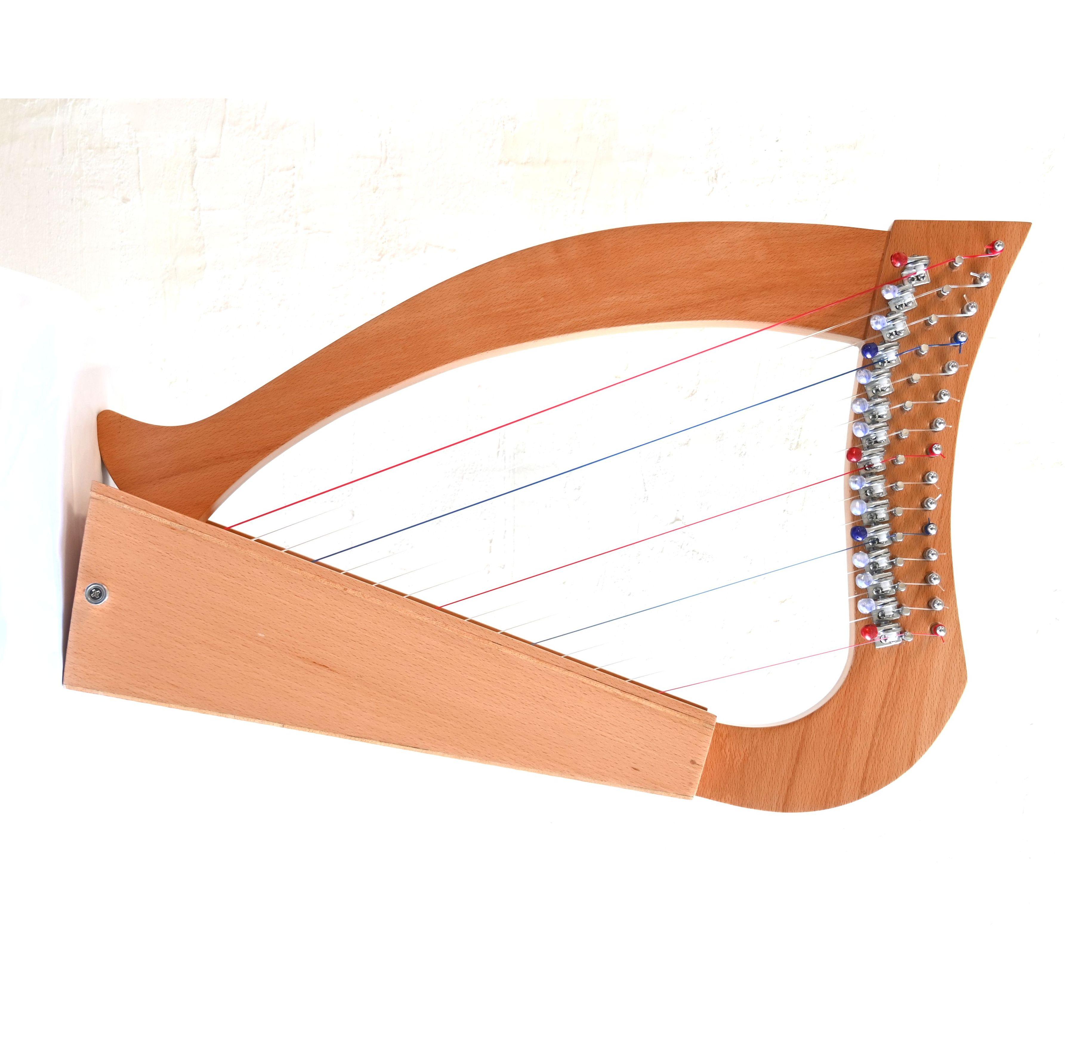 15弦レバー付きototsubu harp