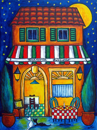 Little Trattoria, 30 x 40 cm, SOLD