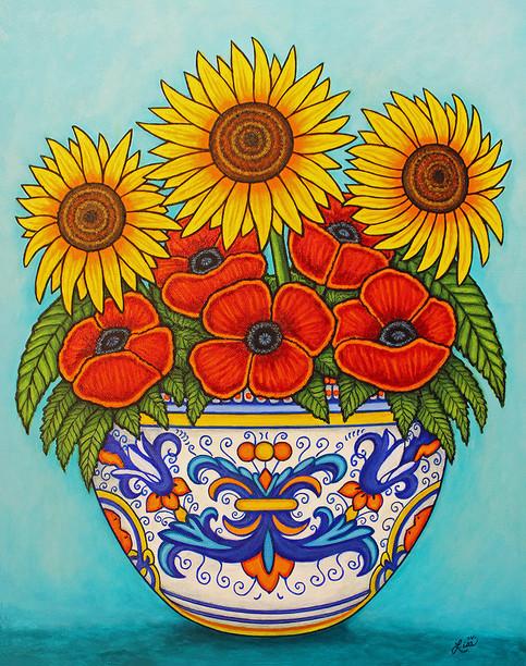 Umbria Bouquet, 40 x 50