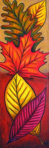 Autumn Glow, 30 x 90 cm, SOLD