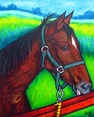 Commission Painting: Sandra's Kamma, 30 x 40 cm, SOLD