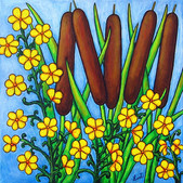 Wild Medley, 40 x 40 cm