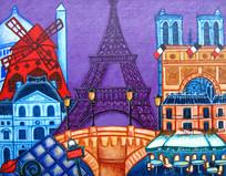 Wonders of Paris, II SOLD