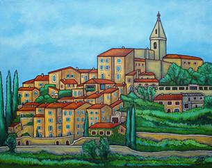 Colours of Crillon-le-Brave, Provence, 40 x 50
