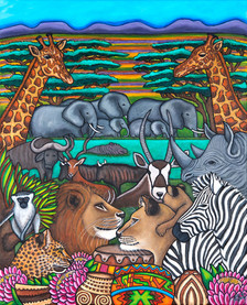 Colours of South Africa, 70x100, Private Collection