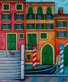 Colours of Venice, 50 x 70 cm, SOLD