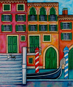 Colours of Venice, 50 x 70 cm, SOLD