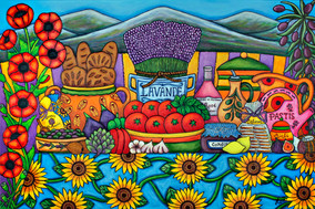 Flavours of Provence, 61 x 91 cm