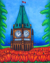 Oh Canada, 40 x 50 cm, SOLD