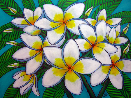 Carribbean Gem, 60 x 80 cm