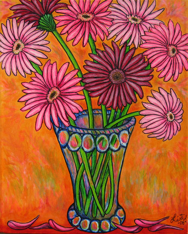 Pretty in Pink, 40 x 50 cm, SOLD