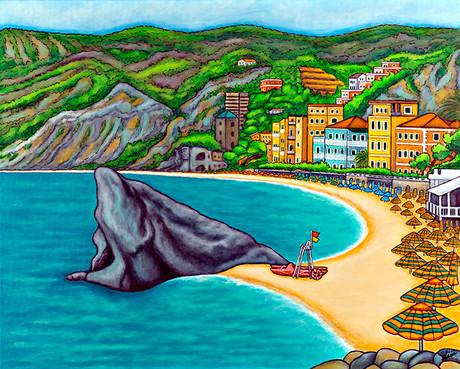 Colours of Monterosso, Cinque Terre, 61 x 76 cm