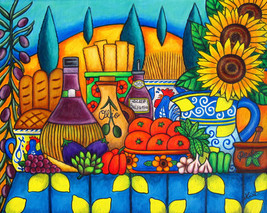 Tuscany Delights II,40 x 50 cm, SOLD