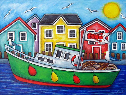 Maritime Special, 40 x 50 cm, SOLD
