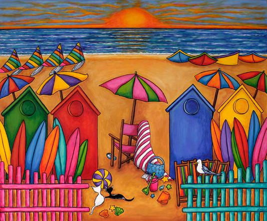 Summer Delight, 100 x 120 cm, SOLD