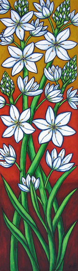 Autumn Bloom, 35 x 120 cm, SOLD
