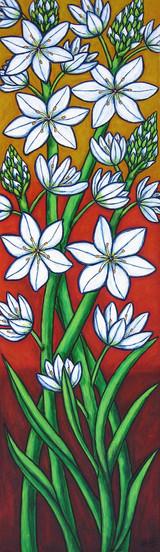 Autumn Bloom, 35 x 120 cm, SOLD