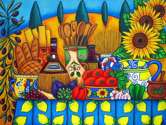 Tuscany Delights, Private Collection