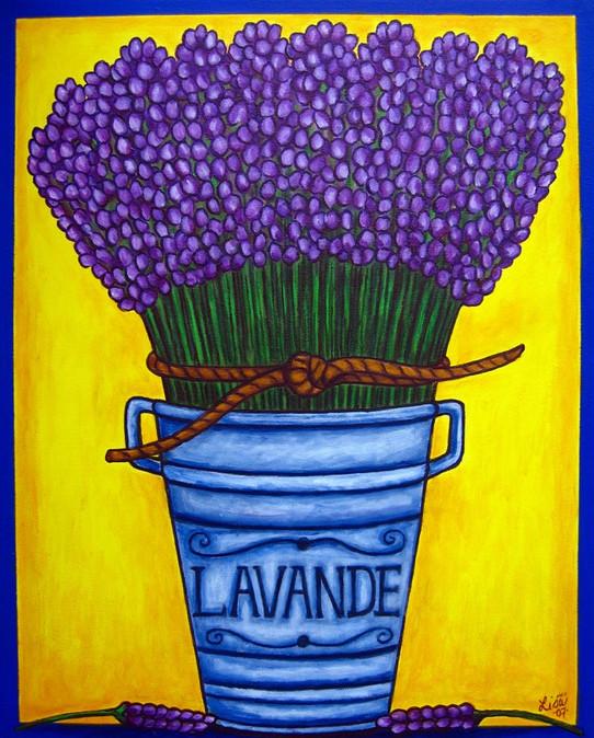 Provence Colours, 40 x 50 cm, SOLD