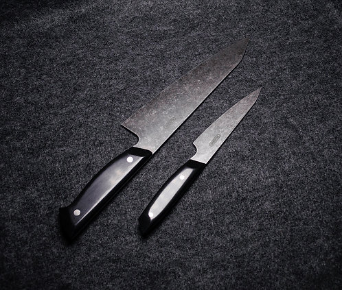 Batwing Gyuto & Saber Petty Set