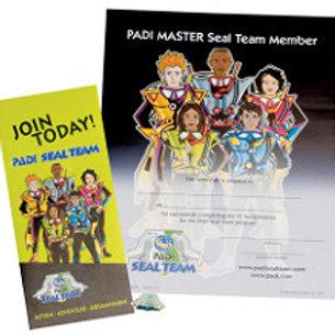 Diplome Master Seal Team PADI